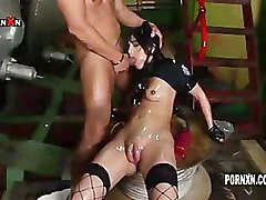 Sandra Black Anal and Face Fucking with a Pussy Pump