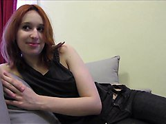 Torbe giving a redhead amateur creampie