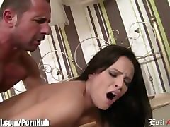evilangel young hungarian anal masturbates and fucked