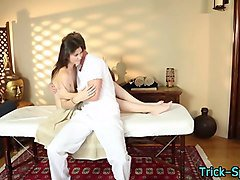 sexy teen sucks masseur