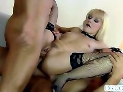 natalli di angelo - threesome with anal and lingerie