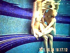 games in the nude pool - giochi in piscina nudista