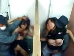 Asian School Girl Gets Gang Banged By A Big Group Of Men