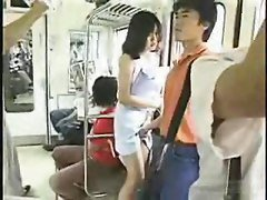 Japanese Grouping Fun In The Bus Uncensored