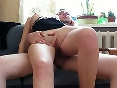 big tits tranny in red stockings gets analyzed bareback