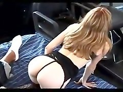 Jesse bbc slut fucks in lingerie - long version