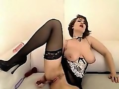 Amazing webcam Big Tits, Toys record with BettyDebbie slut.