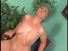 BBW ANAL GRANNY WITH GREY HAIR