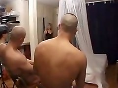 Hot french mature woman fuck with 3 boys
