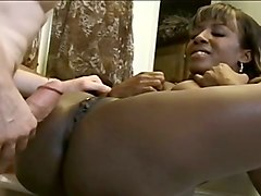 hot and horny ebony milf babe getting pounded in the bathroom