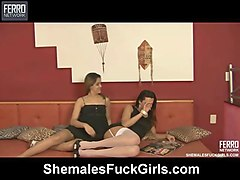 patricia&amanda shemale fucks girl video