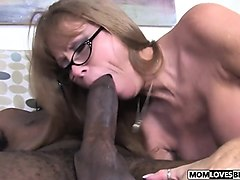 son witness how mom darla crane takes a bbc