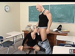 hot blonde teacher extra credit fuck carolyn reese