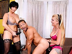 Joclyn Stone,Shay Fox,Chris Dano in Pegging - A Strap On Love Story #03, Scene #01