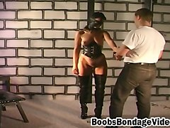 amateur milf big ass spanked and whipped hard by the director