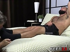gay young boy feet up sex and male feet sucking ricky larkin shoots his load as i worship