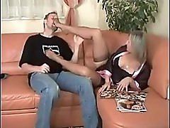 German hanging tits